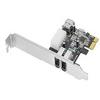 SIIG DP FireWire PCIe - FireWire adapter - PCI Express - Fir -- NN-E20022-S1