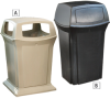 RUBBERMAID Ranger Receptacles -- 4543922