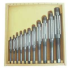 Adjustable Hand Reamer Set,HSS,11 Pcs -- 4LGU4