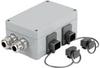 Passive Industrial Ethernet IP65 Junction Boxes / Connectors V4 - Metal Double Junction Box -- IE-OM-V04P-K21-2S -- View Larger Image