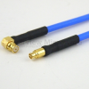 RA SMP Female to Mini SMP Female Cable FM-F086 Coax in 60 Inch -- FMC2125085-60 -Image