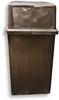 Vanguard® 45-Gallon Plastic Indoor/Outdoor Receptacle -- W-8750