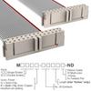 Rectangular Cable Assemblies -- M3TTK-2636J-ND -Image