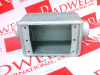 JUNCTION BOX SINGLE 3/4IN -- FDC222