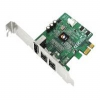 SIIG FireWire 800 3-Port PCIe - FireWire adapter - PCI Expre -- NN-E38012-S3