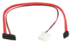 SATA Data/Power Combo Cable,16in,Micro -- 13U547