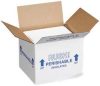 Foam Container and Carton,4-1/2 In D,PK2 -- 12F381