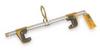 Beam Anchor,Glides,Aluminum -- 2UZF3