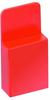 2 Pos. Female Jumper Socket, Handle Shunt, Red -- M7966-46 -- View Larger Image