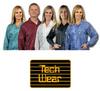 Tech Wear Large Lapel ESD / Anti-Static Lab Coat LOC-23KEY-LG -- LOC-23KEY LG