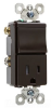 Combination Switch/Receptacle -- TM838-TRCC -- View Larger Image