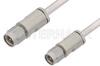 3.5mm Male to 3.5mm Male Cable 6 Inch Length Using PE-SR402AL Coax -- PE34572LF-6 -Image