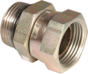 "#4 ORBM x 1/4"" NPTF Swivel Coupler -- 1292291 - Image"