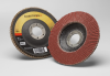 3M Cubitron II 967A Type 29 Coated Ceramic Aluminum Oxide Flap Disc - 40 Grit - 4 1/2 in Diameter - 55623 -- 051141-55623 - Image
