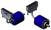 PHM5 Parallel Absolute Multi-Turn Encoder - Push Pull -- PHM5 Parallel Absolute Multi-Turn Encoder - Push Pull -Image