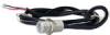 103SR Series Unipolar Hall-Effect Digital Position Sensor with 15/32-32 UNS-2A cylindrical aluminum threaded housing; two hex nuts; 1000 mm [40.0 in] 22-gauge PVC insulated conductor cables -- 103SR13A-2