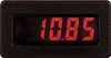CUB4 DC Voltmeter with Red Backlighting -- CUB4V020