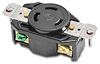 30A Heavy-duty Single Receptacle: locking, 250VAC, NEMA L6-30 -- 70630FR