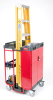 Ladder Cart with Locking Cabinet -- RP9T58