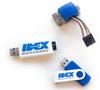QuickStart™ Flow Sensor 1/4-28 Standalone Evaluation Kit 1,000uL - UART -- UART FS1000F EVAL - Image