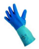 Latex Gloves Size 7/small -- 4AJ-9005326