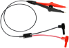 Variable Spacing Probe to Shrouded R/A Banana Plugs -- 4084 -- View Larger Image