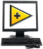 FPM-1017  17in. Flat Panel Monitor with VGA Input for PC's -- 779559-01 - Image