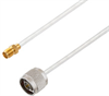 N Male to SMA Female Cable Assembly using LC141TB Coax, 5 FT -- LCCA30415-FT5 -Image
