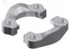 SAE Split Flanges - English & Metric -- 61 Series - Image
