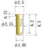 Medium Size Socket Pin -- PDM2081-65-GG -Image