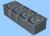 Four Position Power Module -- 83020010