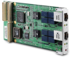 Dual-Gigabit Ethernet PCI-X - PMC Module with Failover Function -- PMC-8246 - Image