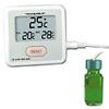 Digi-Sense Calibrated Sentry Triple Display Thermometer, Celsius, bottle probe -- GO-94460-87
