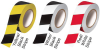 Black and White Hazard Stripe Tape -- 350BW36 - Image