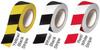Black and White Hazard Stripe Tape -- 350BW36 - Image