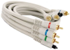 12ft Component RGB with Optical Digital Audio Cable Gold Plated -- 253-112IV