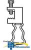 "Erico Beam Clamps Thru 1/2"" Flange -- BCXXM -- View Larger Image"
