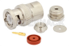 BNC Male Connector Clamp/Solder Attachment For RG178, RG196 -- PE4384 -Image
