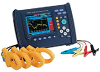 Power Quality Analyzer, with voltage leads -- HK/3196