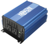 1000W Light-Duty Compact Power Inverter with 2 AC/1 USB - 2.0A/Battery Cables, Mobile -- PINV1000 -- View Larger Image