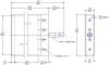 Quadrilateral He3 Detector -- LND 27539