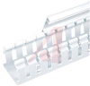Type H Wide Finger Slotted Duct, PVC,2in X 2in X 6ft,WHITE -- 70044197
