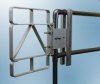 Extended Coverage Self-Closing Safety Gate -- XL Series - Aluminum