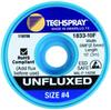 Techspray 1833 Unfluxed Desoldering Braid Blue 10 ft -- 1833-10F