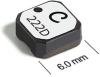 LPS6225 Series Low Profile Shielded Power Inductors -- LPS6225-683 -Image