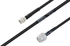 MIL-DTL-17 SMA Male to TNC Male Cable 48 Inch Length Using M17/28-RG58 Coax -- PE3M0122-48 -Image
