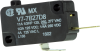 MICRO SWITCH V7 Series Miniature Basic Switch, Single Pole Normally Open Circuitry, 11 A at 250 Vac, Pin Plunger Actuator, 2,22 N [8.0 oz] Maximum Operating Force, Silver Contacts, Quick Connect Termi -- V7-7B27D8 -- View Larger Image
