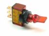 Illuminated Mini Duckbill Toggle Switch (12v)- Red -- 70120 -- View Larger Image