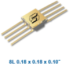 Isolink High-Speed Logic Gate Hermetic Surface Mount Optocoupler -- OLF500