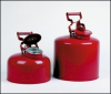 Safety Can Justrite - Non-Metalic 5 Gallon -- 17-182B